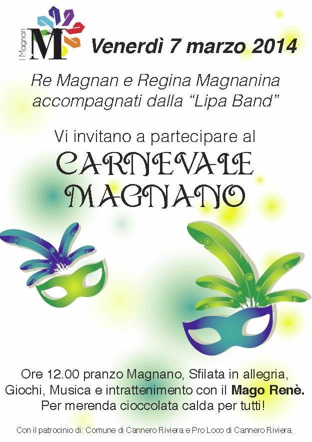 Carnevale Magnano a Cannero Riviera